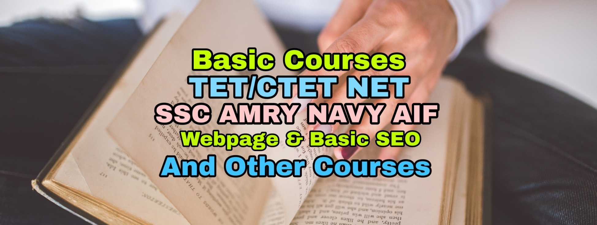 Courses For CTET SSC AMRY etc with Practice Paper