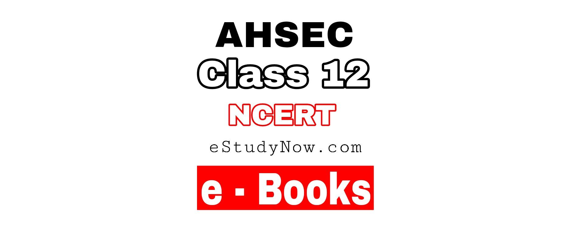 class 12 ebook ahsce