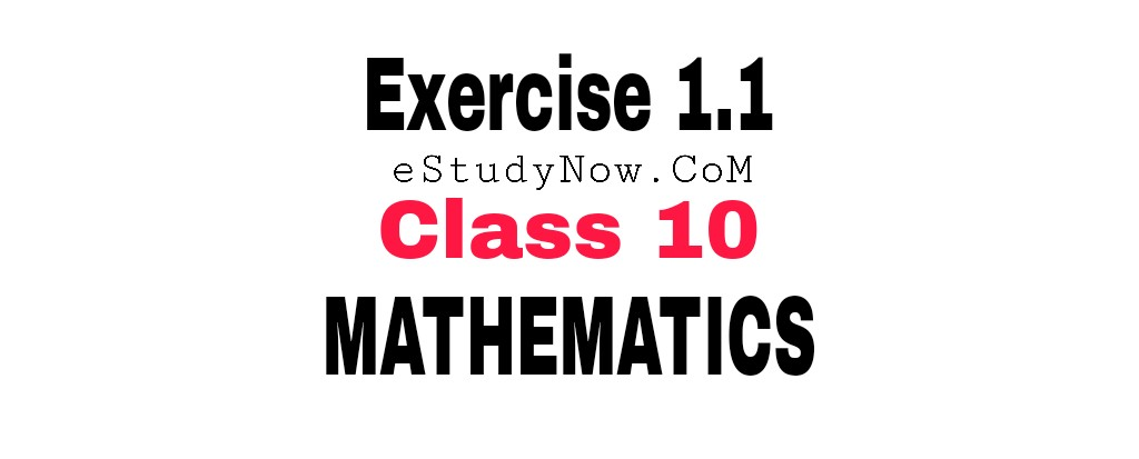 exercise 1.1 class 10 mahs