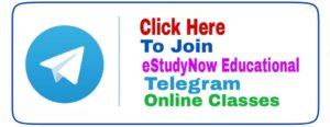 estudynow telegram online coaching classes