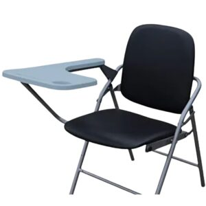 folding studing reading chair for students with pad