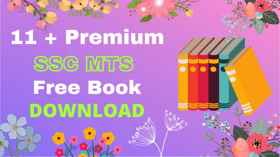 11+ Premium SSC MTS Books PDF Free Download • Best Book for ssc mts Preparation