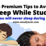 how to avoid sleep while studying during exams