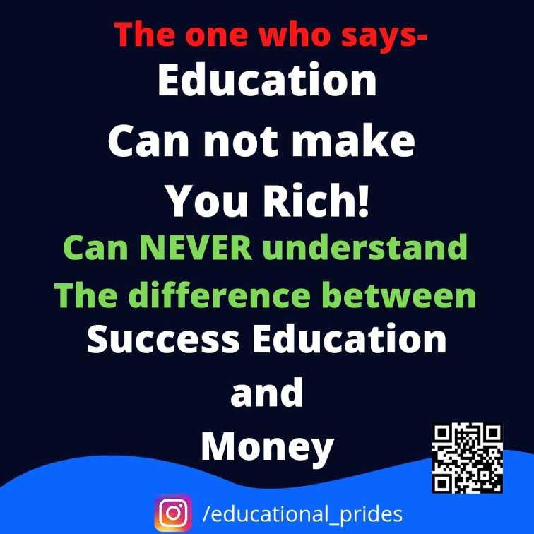 Educational Motivation inspiration quote